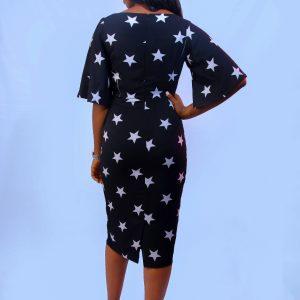 Monochrome Dress (Star)