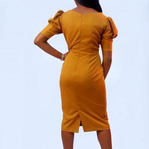 Ozy Dress (Gold)